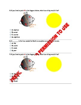 5th Grade NGSS Science: Earth, Sun & Moon: Patterns & Movement