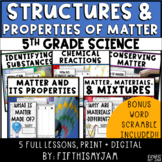 Structures and Properties of Matter   Full Guided Unit Sci