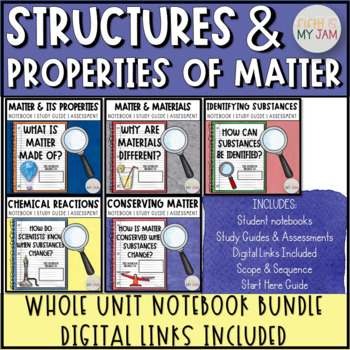 5th Grade NGSS // Structures and Properties of Matter // Lesson Bundle