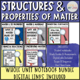 Structures and Properties of Matter   Printable Notebook O