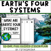Earths Four Systems   Full Guided Science Lesson Bundle