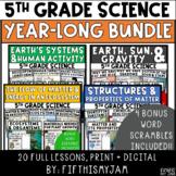 Year Long Science Bundle   Four Full Unit Science BUNDLES