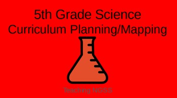 5th Grade NGSS Year Long Curriculum Map and Lesson Plan Outline