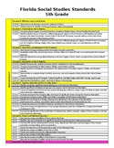 5th Grade - NGSSS - At A Glance