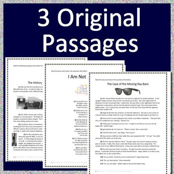 5th Grade NWEA MAP Reading Test Prep Bundle for Language Arts ELA