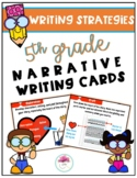 5th Grade Narrative Writing Strategy Cards