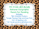 5th Grade National Geographic Reach for Reading BIG Bundle