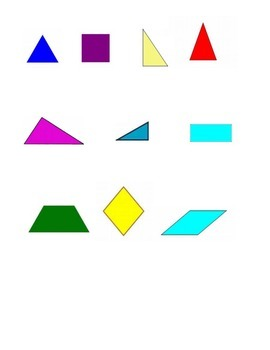 4th Grade New York Alternative Assessment Math Standard 4G - Geometric Attribute