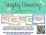 5th Grade Next Gen. Sci. Standards (NGSS) - I Can Statement Posters - EDITABLE