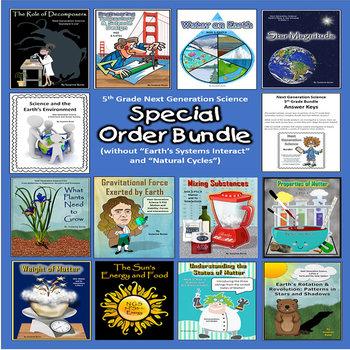 5th Grade Next Generation Science Bundle: Special Order