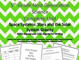 5th Grade Next Generation Science Unit Space Systems: Gravity