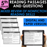 5th Grade Nonfiction Reading Comprehension - Google Classr