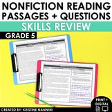 5th Grade Nonfiction Reading Comprehension - Google Classr