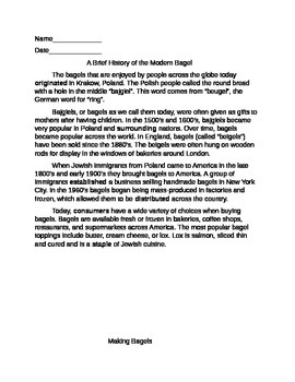 5th Grade Nonfiction Reading Comprehension and Vocaubulary Practice Packet