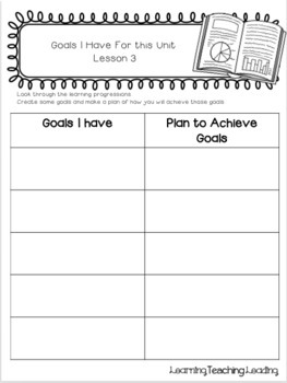 5th Grade Nonfiction Unit Student Notebook