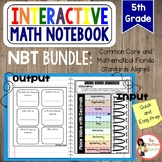 5th Grade Number and Operations in Base Ten Interactive No