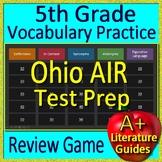 5th Grade Ohio AIR Test Prep Vocabulary and Figurative Language Review Game