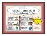 5th Grade I Can statement cards for Ohio Model Social Studies (with graphics!)