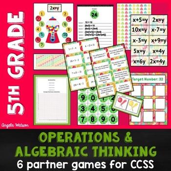 5th Grade Operations & Algebraic Thinking: 6 Math Partner