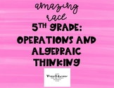 5th Grade Operations/Algebraic Thinking Race