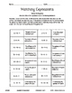 5th Grade Operations And Algebraic Thinking Packet
