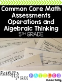 5th Grade Operations and Algebraic Thinking Assessment Pac