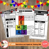5th Grade Operations and Algebraic Thinking Interactive No