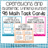 5th Grade Operations and Algebraic Thinking Task Cards Bundle