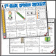 5th Grade Opinion Writing Checklist