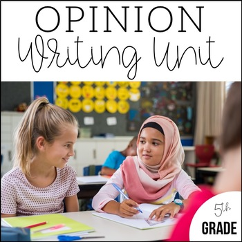Common core resources lesson plans ccss w51a 5th grade opinion writing unit 3 6 weeks of ccss aligned lesson plans fandeluxe Gallery