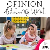 5th Grade Opinion Writing | Unit 3 | 6 Weeks of CCSS Align