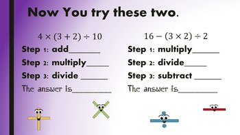 5th Grade Order of Operations