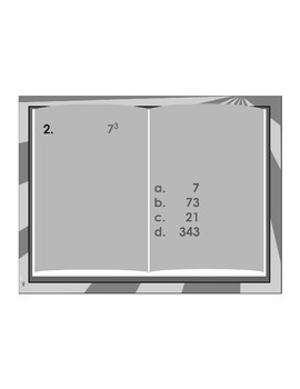 5th Grade Order of Operations ActivExpression Assessment 2 5.OA.A.1