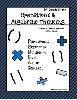 5th Grade Order of Operations Packet