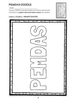 5th Grade PEMDAS 5.OA.1 & 5.OA.2 EXTENDS