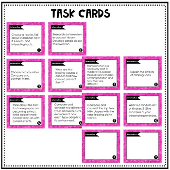 Paragraph Writing Prompts and Essay Writing Prompts for 5th Grade