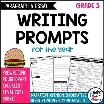 5 paragraph essay prompt
