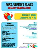 5th Grade Parent Newsletter