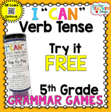 5th Grade Perfect Verb Tense Game FREE