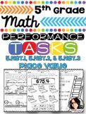 5th Grade Math Printables 5.NBT. 1, 5.NBT.2, 5.NBT.3 Numbers & Operations