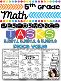5th Grade Math Printables 5.NBT. 1, 5.NBT.2, 5.NBT.3 Numbe