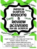 5th Grade Physical Properties Lessons and Review Activities