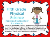 S5P1a. c. 5th Grade Georgia Physical Science Powerpoint w/