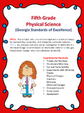 S5P1a. c. 5th Grade Georgia Physical Science Experiments,