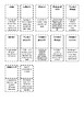 5th Grade Physical and Chemical Changes Vocabulary Packet