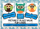"5th Grade:  ""Picture It"" Place Value  Vocabulary Flip Card"