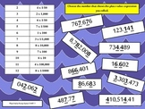 5th Grade Place Value Bump Math Game {5.NBT.1} Common Core Aligned