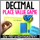 5th Grade Place Value Decimal Game