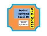 5th Grade Place Value Decimal Rounding Round-Up Game for Common Core