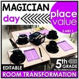 5th Grade Place Value | Magician Room Transformation